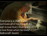 Everyone is a child of God by Radhanath Swami