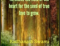 Radhanath Swami on devotion and love