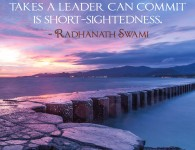 Radhanath Swami on the greatest mistakes