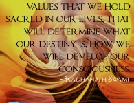 Radhanath Swami on Developing Consciusness