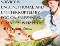 Radhanath Swami on Service