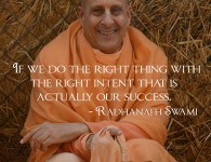 Radhanath Swami on Success