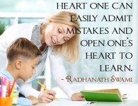 Radhanath Swami on learn with humble heart