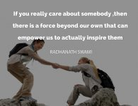 Radhanath Swami on Real Care