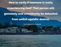 Radhanath Swami on experiencing God