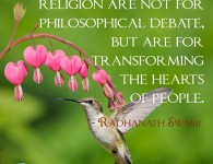 Radhanath swami on Transforming hearts