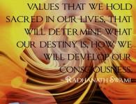Radhanath Swami on Developing Consciusness