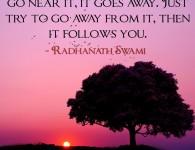 Radhanath Swami on Fame