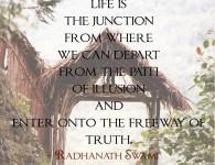 Radhanath Swami on Human life