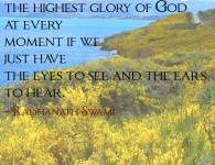 Radhanath Swami on Nature is speaking