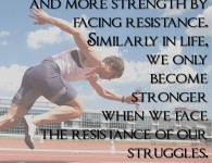 Radhanath Swami on becoming stronger